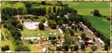 Covered Wagon Camp Resort arial photo